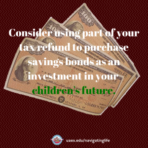 Consider using part of your tax refund