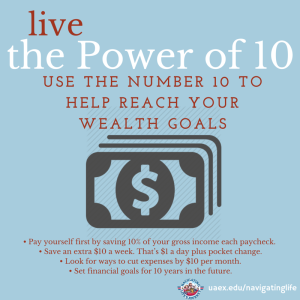Live the power of 10-Wealth